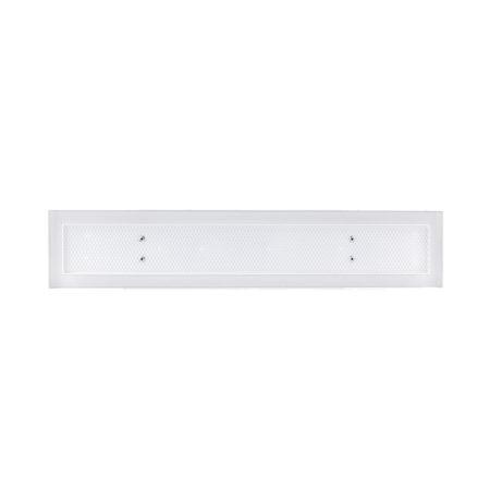 Schmale Luftleiste Open Air 8 mit Putzfront 400 x 80 mm