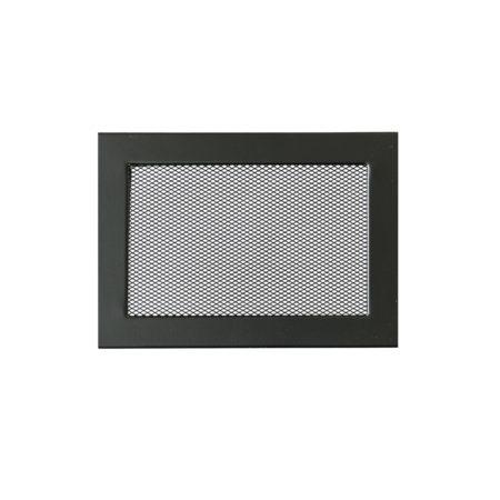 1680 240 x 170 Ventlab Gitter mit Gittergewebe schwarz FA