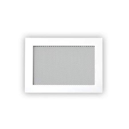 1682 Ventlab Gitter mit Gittergewebe 240 x 170 weiss